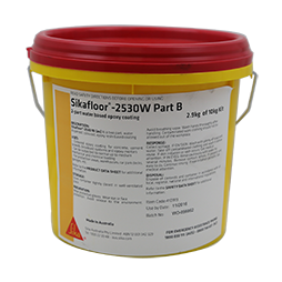 Sikafloor® -2530 W (au) is a coloured epoxy resin coating for concrete